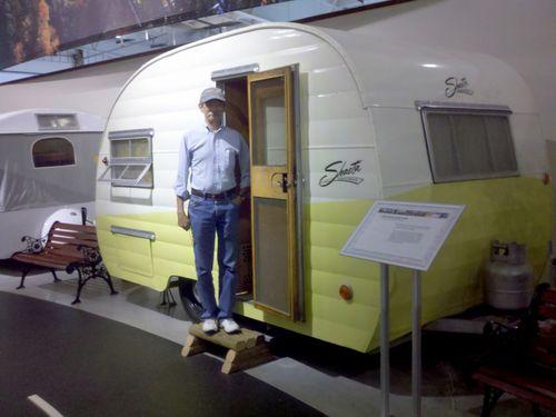 Rv museum trailer