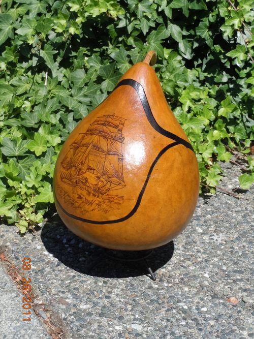 Sailing gourd